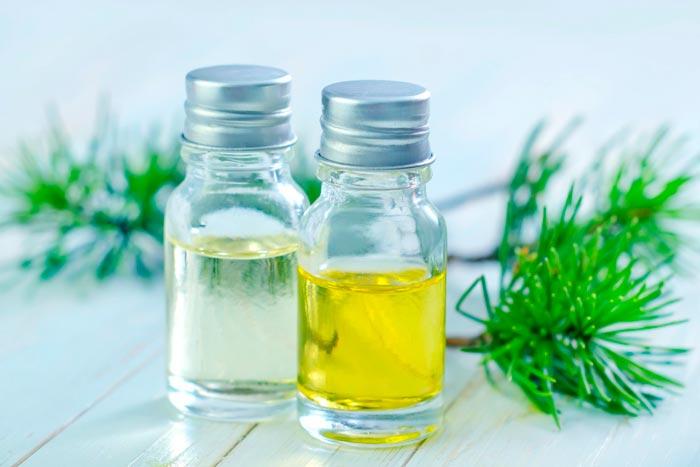 Скипидар и подсолнечное масло