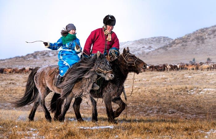 монгольские ковбои