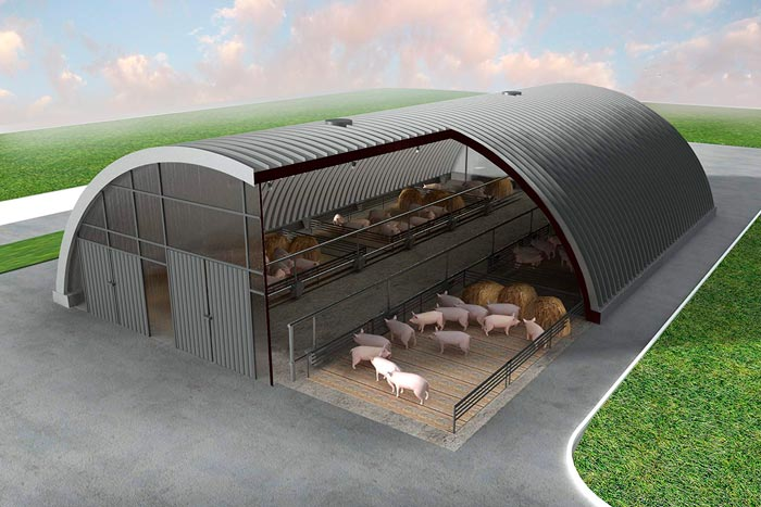проект свинарника