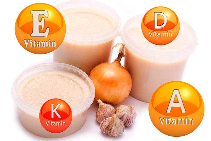 витамины в свином жире
