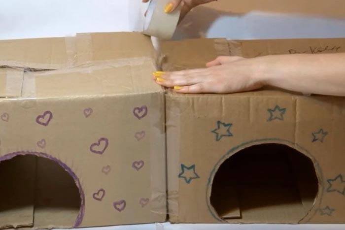 Склейка коробок