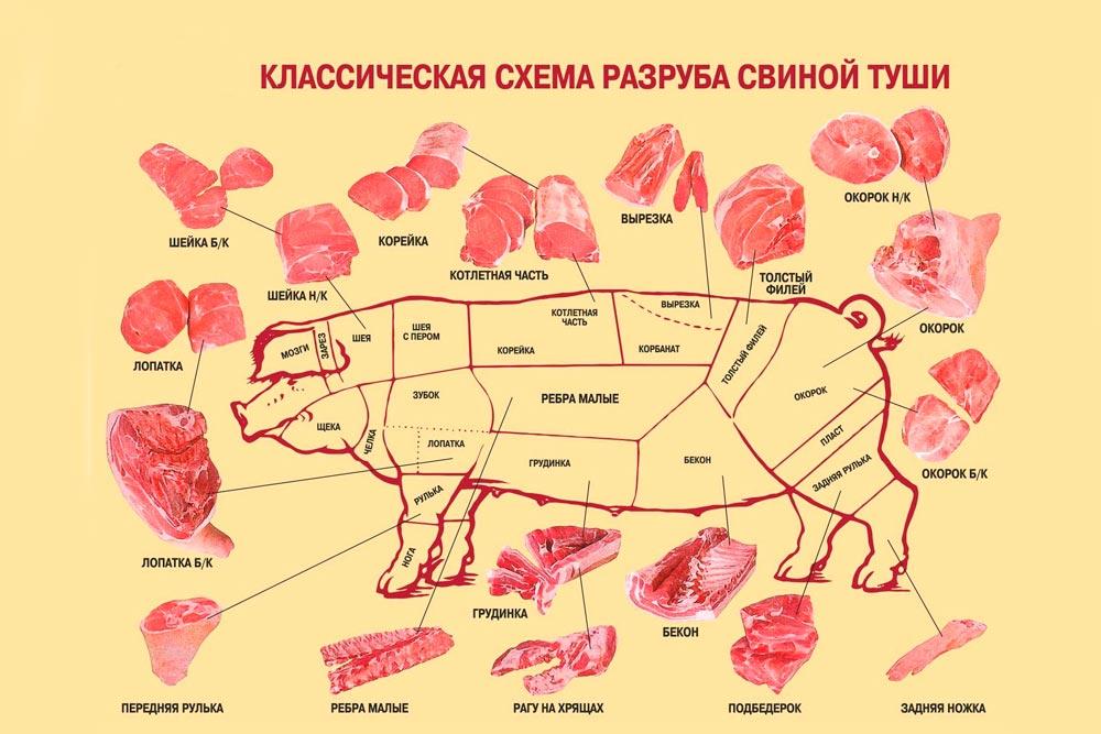 Какая часть свинины самая мягкая и вкусная