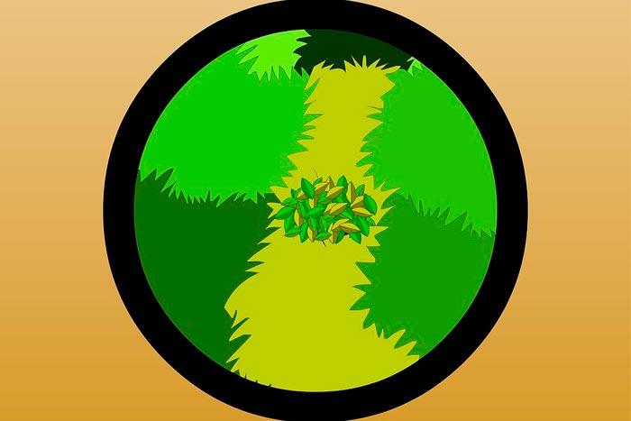 Маскировка листвой